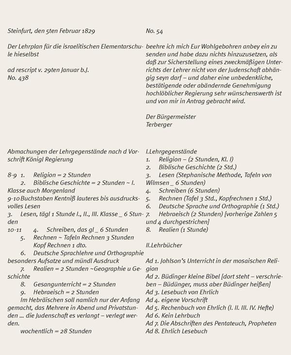 Transkription des Briefes.